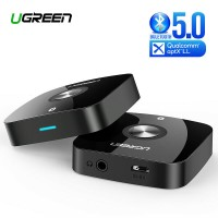 Ugreen Bluetooth aptX Low Latency AUX Hi-Fi адаптер Bluetooth 5.0 (UG-40758)