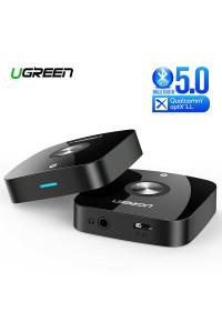 Ugreen Bluetooth aptX Low Latency AUX Hi-Fi адаптер Bluetooth 5.0 (UG-40758)