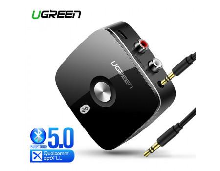 Bluetooth адаптер Ugreen HI-FI aptX Low Latency AUX 2RCA Bluetooth 5.0 приемник (UG-40759)