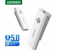 Ugreen Bluetooth 5.0 AUX адаптер aptX Low Latency Hi-Fi Hands-Free (UG-40854)