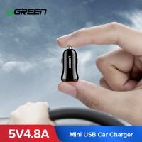 Автомобильное зарядное устройство для телефона UGREEN 4.8А 24W ED018 (50875)