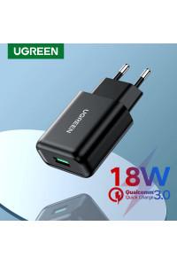 Сетевое зарядное устройство Ugreen USB Quick Charge 3.0 FCP 18W (UG-70273)