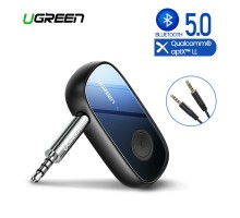 Ugreen Bluetooth 5.0 адаптер HI-FI aptX Low Latency AUX приемник (UG-70304)