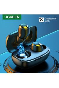 Беспроводные наушники Ugreen HiTune TWS aptX Bluetooth 5.0 IPX5