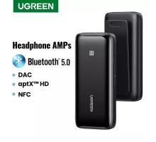 AptX HD Bluetooth 5.0 адаптер UGREEN USB DAC 3.5 mm NFC HI-Fi QCC3034 (UG-80895)