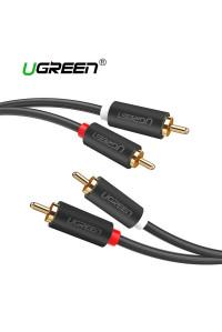 Аудио кабель 2 RCA 2 RCA Ugreen 1 м