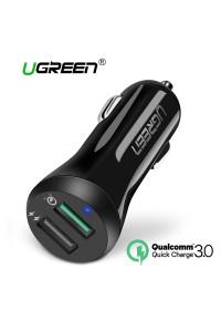 Автомобильное зарядное устройство Ugreen 5.4A 30W Quick Charge 3.0 (UG-40309)
