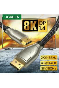 Кабель Displayport 1.4 3D HDR 8K@60Гц 4K@144Гц Ugreen
