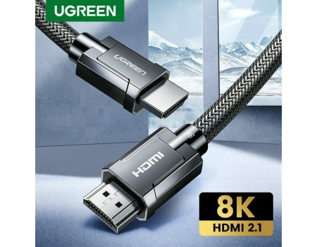 Кабель Ugreen HDMI 2.1 8K-60Hz 4K-120Hz 3D HDR eARC (UG-HD135)