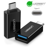 Переходник OTG USB 3.0 Type-C Ugreen US173