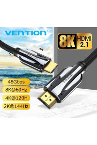 Кабель HDMI 2.1 8K-60Hz 3D HDR eARC Vention Premium (AAL)