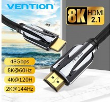 Кабель HDMI 2.1 8K-60Hz 3D HDR eARC Vention Premium (AAL)