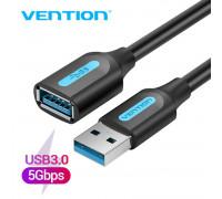 Удлинитель USB 3.0 Vention CBHB Black