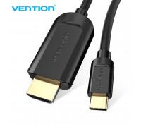Кабель Type C HDMI 4K Thunderbolt 3 Vention (V-CGUBG)