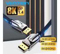 Кабель Displayport 1.4 8K UHD HDR 3D 144Hz 240Hz Vention (HCAB)