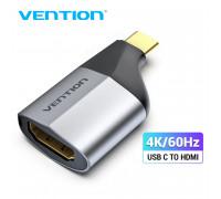 Переходник Type C HDMI 4K@60Hz Vention (V-TCAH0)