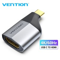 Переходник Type C HDMI 4K@60Hz Vention (V-TCAH0)
