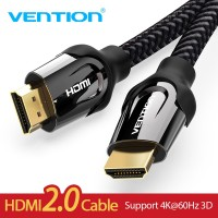 Кабель HDMI 2.0 4K 3D Vention VAAB05 BK