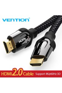 Кабель HDMI 2.0 Vention 4K HDR 3D (VAAB05-BK)