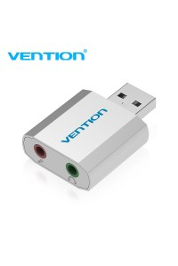 Внешняя звуковая карта USB AUX Vention VAB-S13-SV