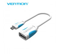 Переходник OTG microUSB Vention VAS-A07-W025 25 см