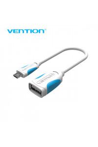 Переходник OTG microUSB Vention VAS-A07-W025 25 см